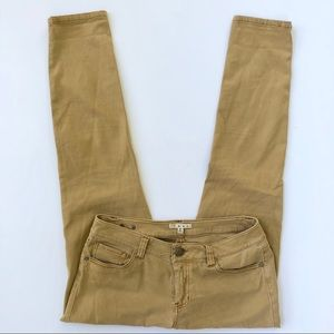 CAbi Cotton Stretch Jeans in Mustard